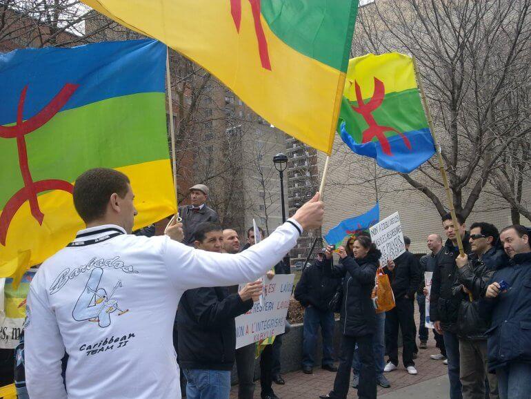 Yennayer. Manifestation pour revendiquer Tamazight langue officielle