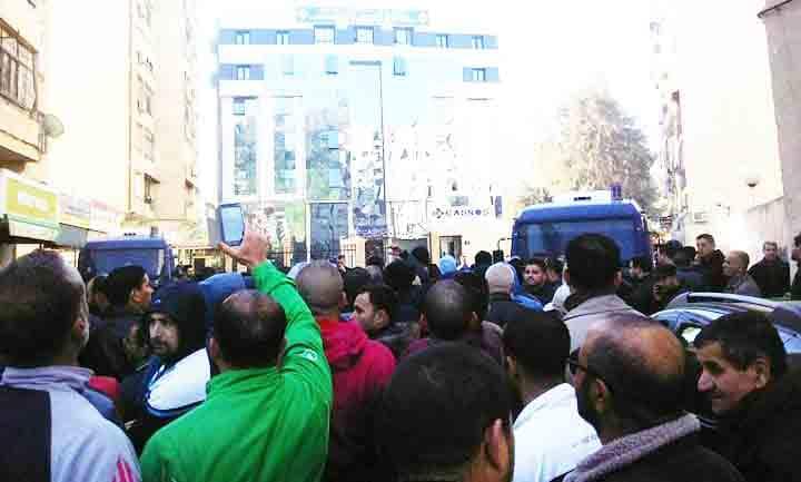 Tizi Ouzou paralysée ce matin par une grève générale des commerçants