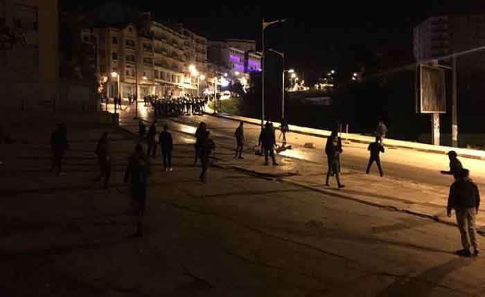 émeutes à l'université