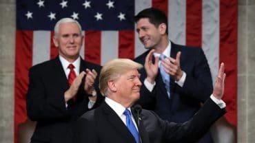 Quand Donald Trump s'exhibe en « rassembleur » devant le congrès