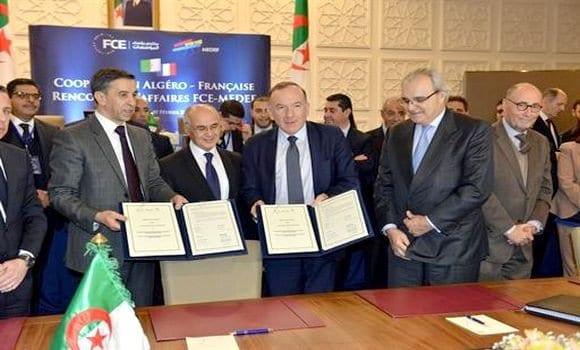 Crédit photo : DR | Lors de rencontre entre les représentants du MEDEF et les représentants du FCE et Gouvernement