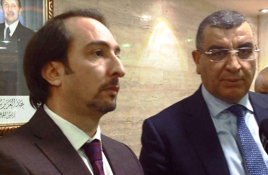والي ولاية ورقلة رفقة رئيس وفد صناعيي المتيجة