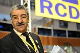 Said Sadi annonce qu'il n'est plus militant du RCD