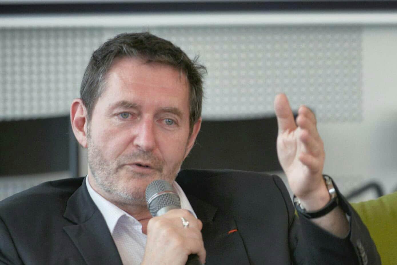 Pierre Mansat, président de l'Association Maurice Audin