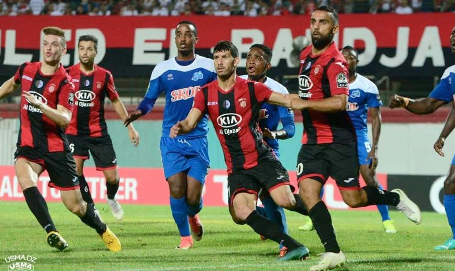 CAF: L'USMA s'incline face à Masry