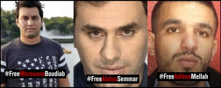 Le procureur de la république a requit un complément d'information ou Une année de prison ferme. L'avocat de Anis Rahmani a demandé Deux millions de dinar comme dommages. L'avocat de la wilaya d'Alger a demandé 50 millions de dinars comme dommages.