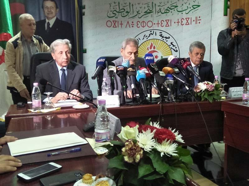 Le front de libération national (FLN), le Rassemblement national démocratique (RND), TAJ et le mouvement populaire algérien (MPA) ont réaffirmé, aujourd'hui « leur soutien à un cinquième mandat présidentiel ».