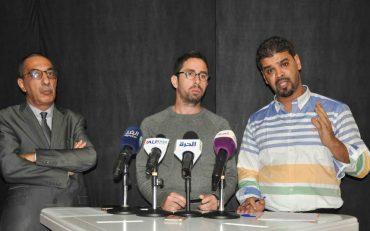 """Le syndicat algérien des éditeurs de presse électronique (SAEPE) a organisé aujourd'hui 07 novembre un conférence de presse au siège de interface Media à Alger. Les intervenants ont dénoncé durant la conférence """" des attaques sans précédent contre les presse électroniquedans sa jeune histoire""""."""