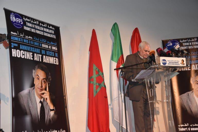 Le premier secrétaire du FFS, Mohamed Hadj Djilani n'a pas raté l'occasion de la commémoration du 3ème anniversaire du décès de feu Hocine Ait Ahmed, pour évoquer le débat autour de la présidentielle 2019. Le FFS, selon lui, n'adhère pas aux initiatives lancées récemment, notamment par le président du parti TAJ, Amar Ghoul, qui appelle à une conférence nationale.