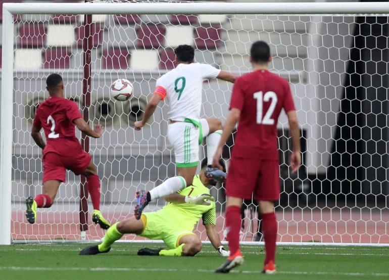 La sélection nationale A' de football a, pris, hier, à Doha, le meilleur sur le Qatar en match amical joué à huis clos.