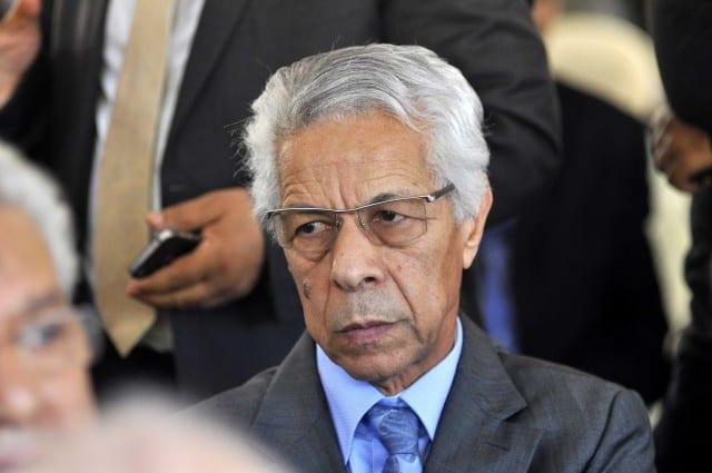 L'ancien chef du gouvernement, Mouloud Hamrouche