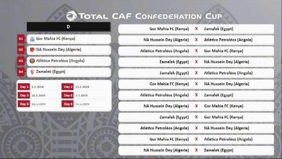 Le NA Hussein Dey connaît depuis ce lundi ses futurs adversaires en phase des poules de la coupe de la CAF. Le club algérien a hérité du groupe D.