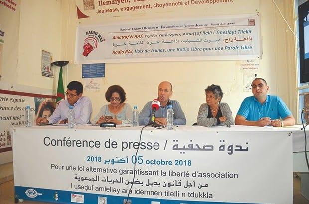 Retour au régime déclaratif, levé du diktat de l'administration et assouplissement des procédures de constitutions des associations…neuf organisations algériennes réclament à nouveau la révision de la loi sur les Associations, en vigueur depuis 2012.