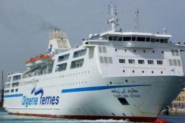 """Le départ du car-ferry """"Tariq Ibn Ziyad"""" d'Alger vers Marseille (France), prévu pour jeudi 10 janvier à 12h, a été reporté au lundi 14 janvier à 12h en raison d'intempéries, a indiqué mardi l'Entreprise nationale de transport maritime de voyageurs (ENTMV) dans un communiqué."""