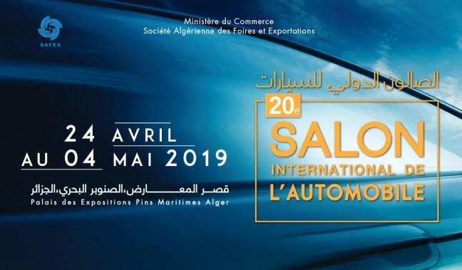 La Société Algérienne des Foires et Exportations (SAFEX) confirme le retour du salon international de l'automobile d'Alger. Il se déroulera du 24 avril prochain au 04 mai.