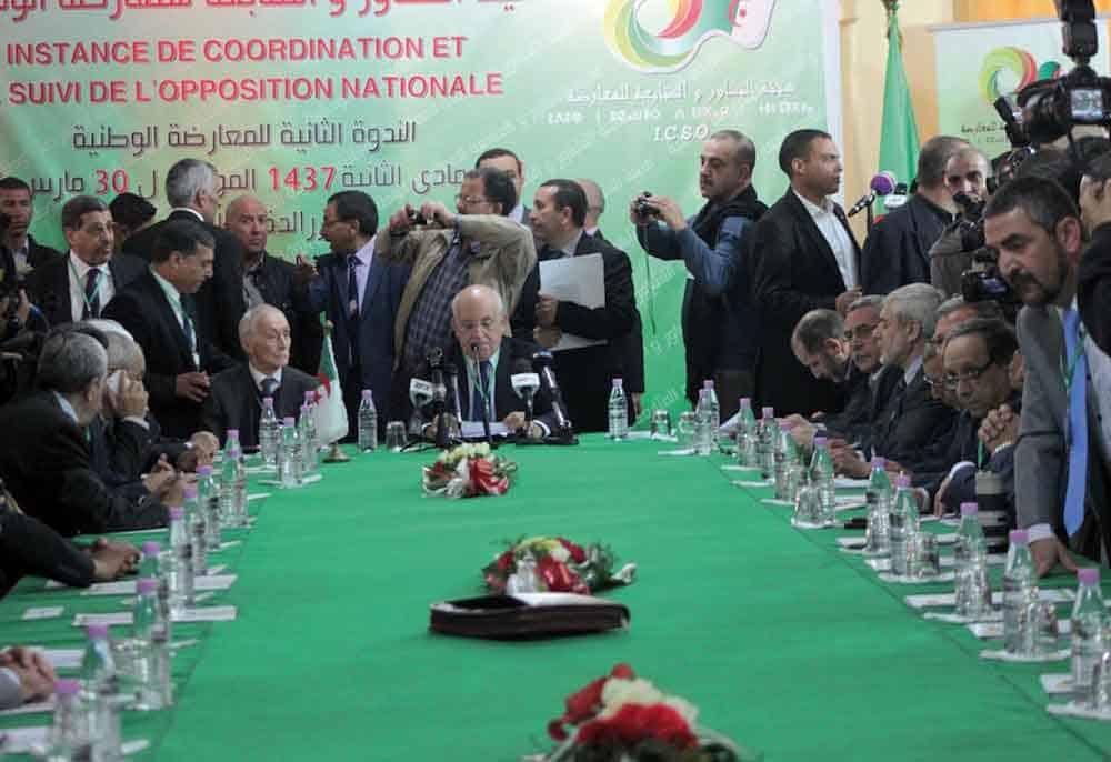 Lakhdar Benkhellaf, membre du parti FJD de Abdellah Djabellah a déclaré après la réunion de «l'opposition», qui a duré environs deux heures, que «la décision finale sera prise les prochains jours».