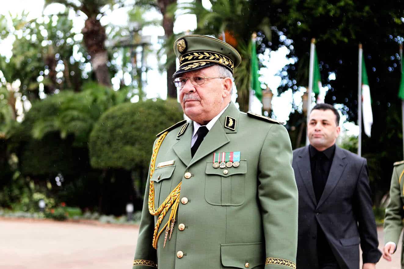 Ahmed Gaid Salah, vice ministre de la défense.