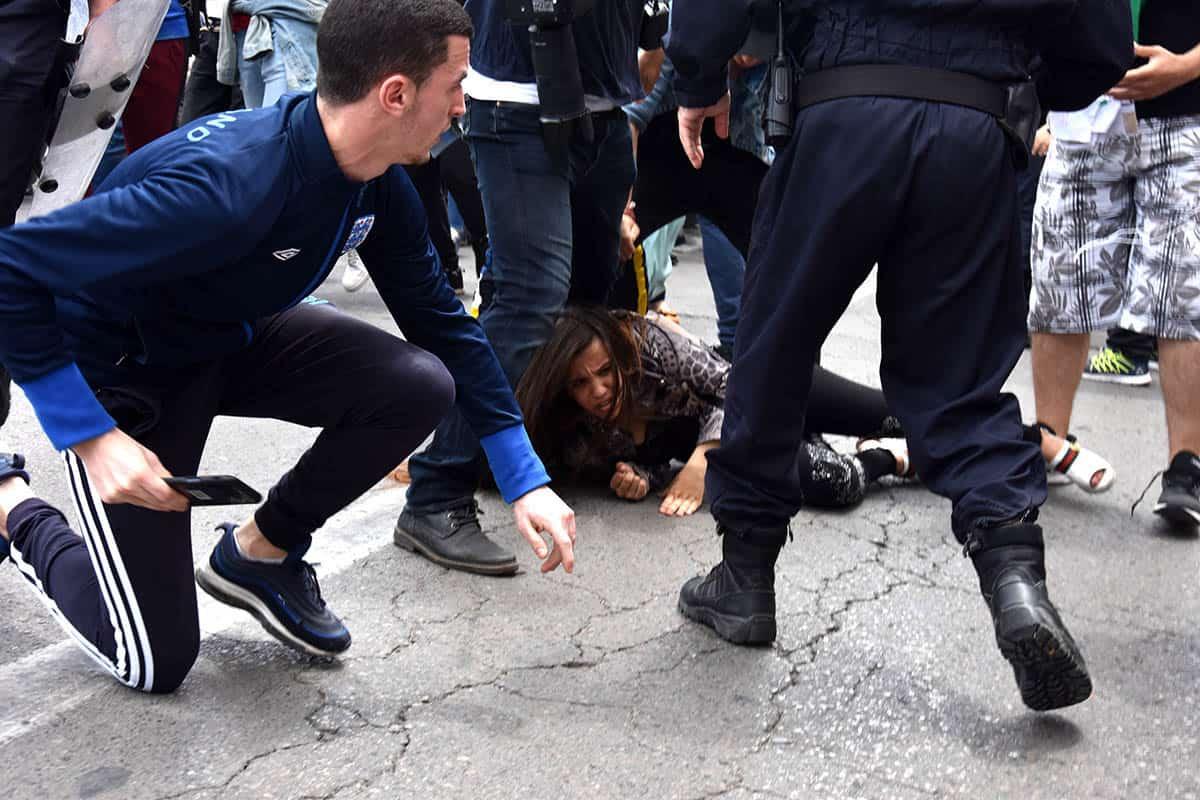 Répression des étudiants