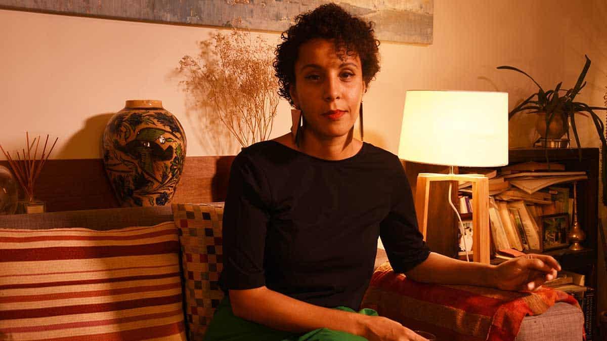 La réalisatrice Sofia Djama