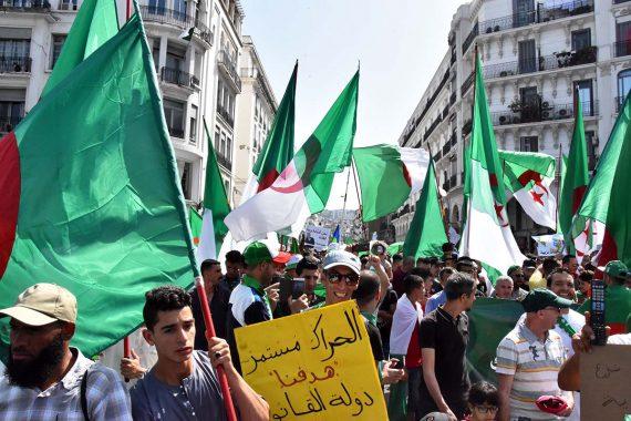 17e vendredi de mobilisation consécutif à Alger.