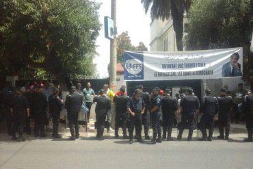 Le siège nationale du front des forces socialiste (FFS) a été, aujourd'hui 22 juin, le théâtre de nouvelles scènes de violence. Des partisans de la direction du parti, conduite par Ali Laskri