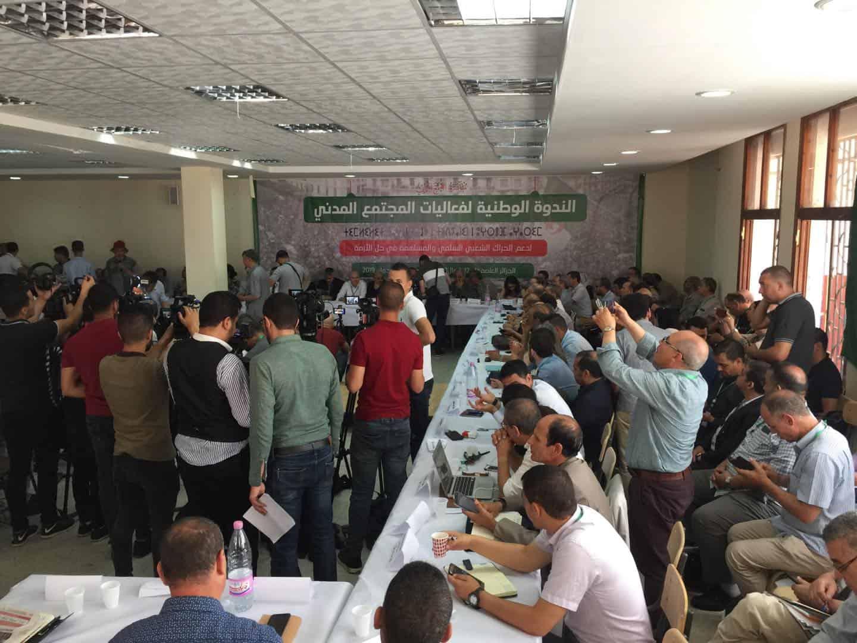 c'est conférence nationale de la soviété civile