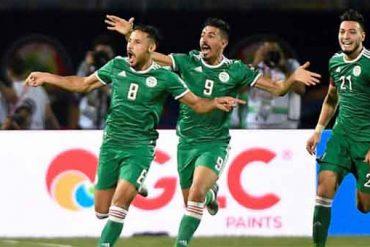 L'équipe nationale Algérienne de football a arraché aujourd'hui 07 juillet, son ticket de qualification pour les quarts de finale en battant la Guinée par le score de 3-0, lors d'une rencontre spectaculaire jouée au stade du 30 juin, au Caire pour le compte des huitièmes de finale de la coupe d'Afrique des Nations (CAN).