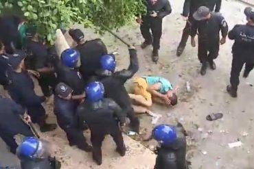 Grave dérapage policier. Des manifestants passés à tabac