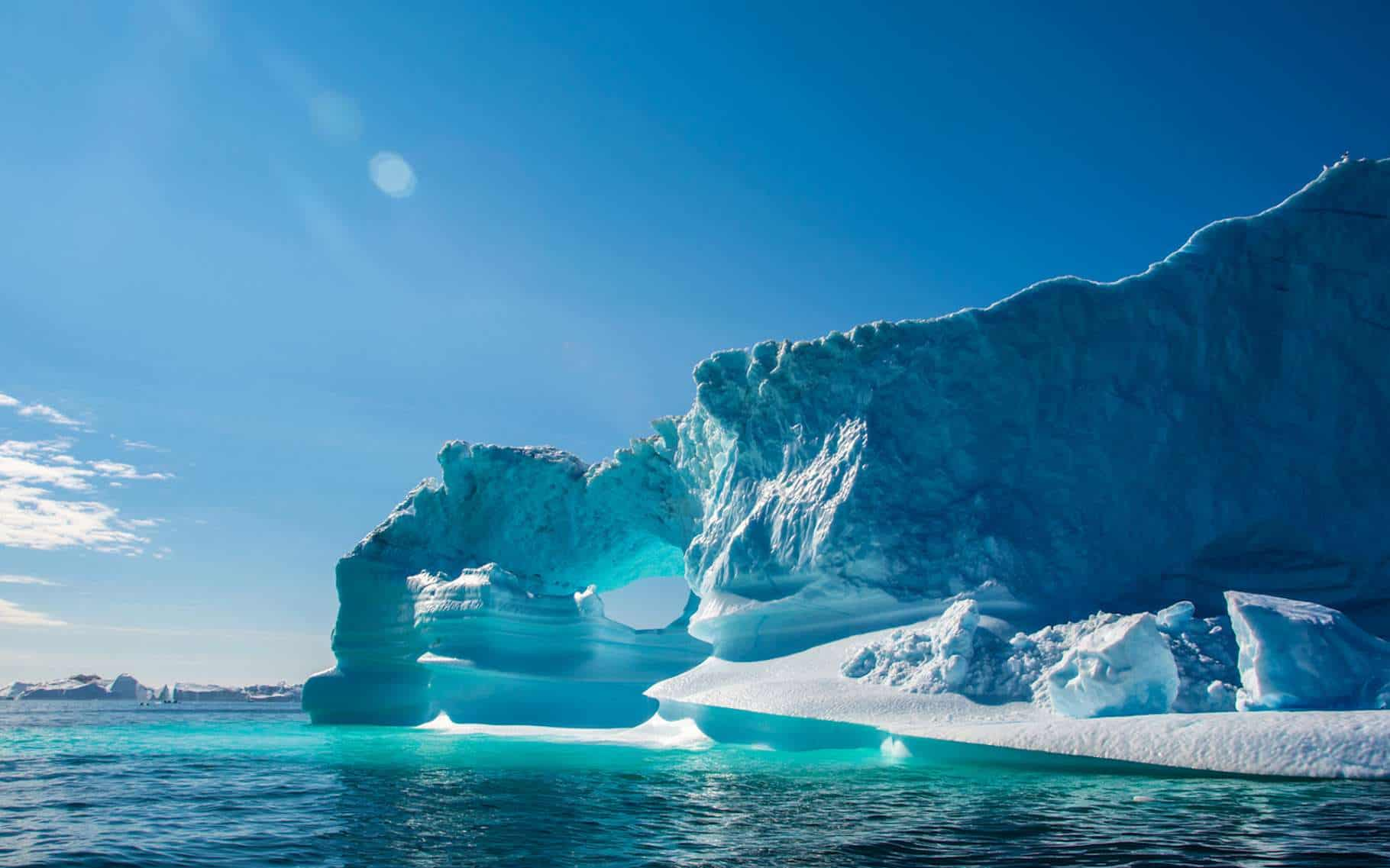 Fonte rapide du Groenland