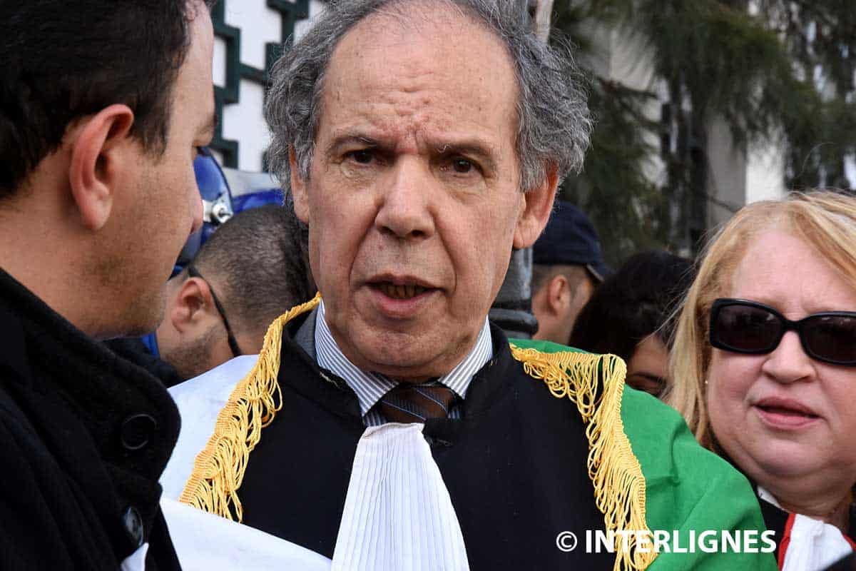 L'avocat et militant politique, Mokrane Ait Larbi