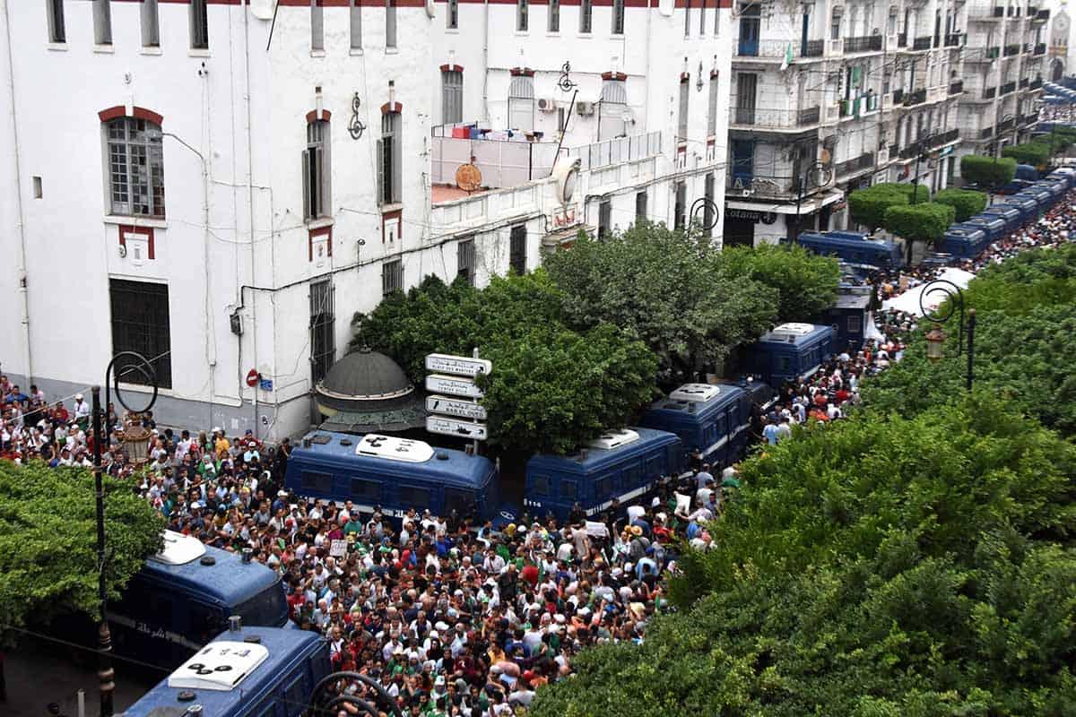 Une marée humaine a défiler ce vendredi 20 septembre dans les rues d'Alger