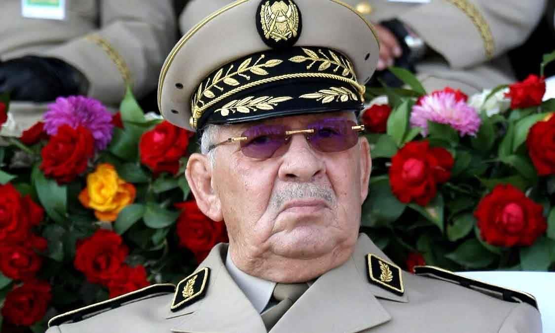 Le chef de corps d'armée, vice ministre de a défense nationale, Ahmed Gaid Salah