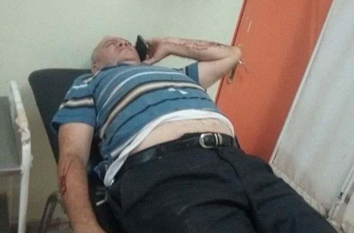 L'avocat et militant des droits de l'homme, Salah Dabouz sur le lit d'hôpital