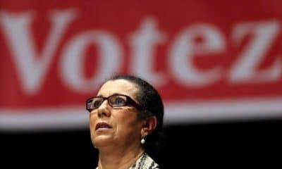 © | Louiza Hanoune, secrétaire générale du parti des travailleurs (PT)