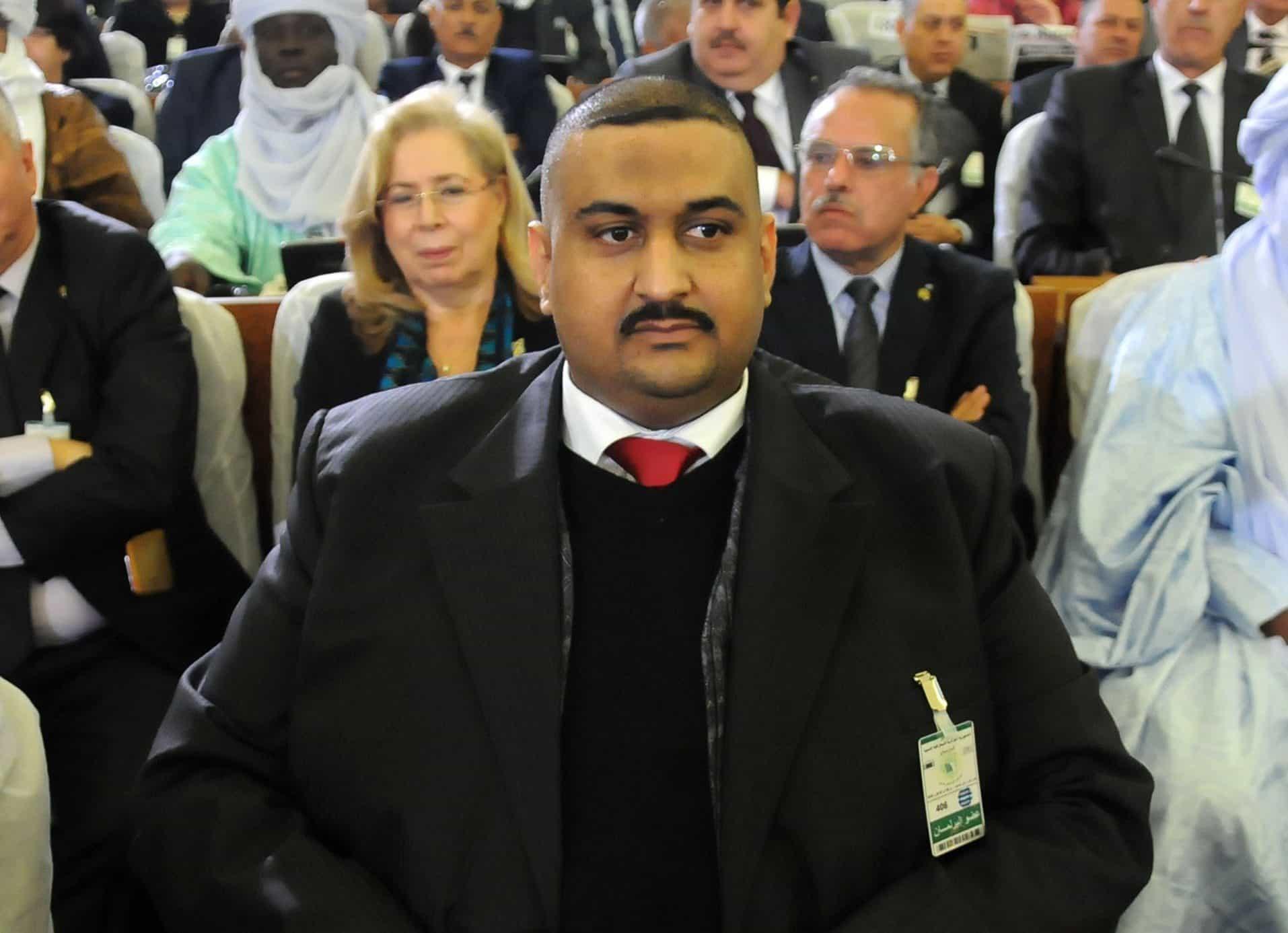 Le député de la wilaya de Annaba Baha Eddine Tliba, du parti du front de libération nationale (FLN)
