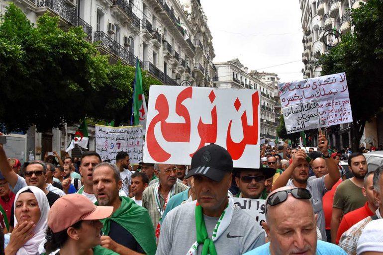L'armée empêchera l'accès des manifestants d'autres régions à Alger, déclare Gaïd Salah