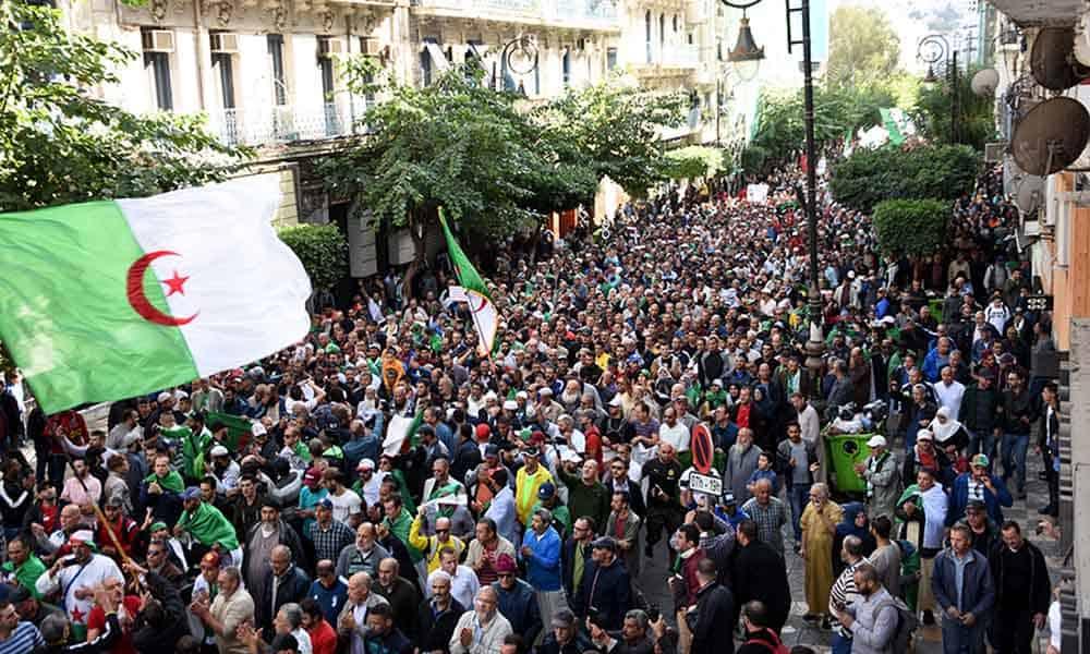 Marche du 36e vendredi Alger