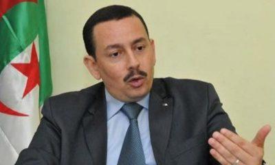 Le secrétaire général de l'alliance nationale républicaine (ANR)Belkacem Sahli
