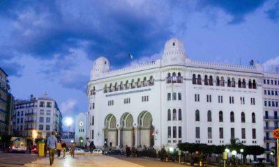 Grande poste à Alger (archives)