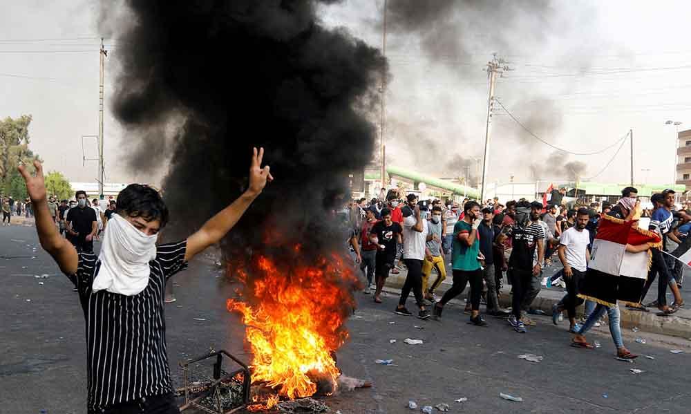 Couvre-feu décrété à Bagdad après des manifestations meurtrières