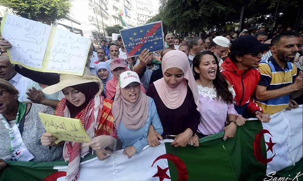 © Sami K. El Watan | Marche des étudiants à Alger, mardi 1 octobre 2019