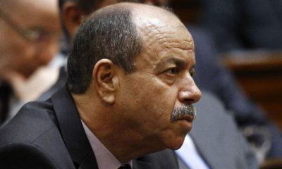 Belkacem Zeghmati, ministre de la justice
