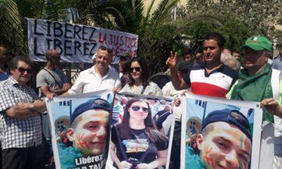 @DR | détenus pour port du drapeau amazigh