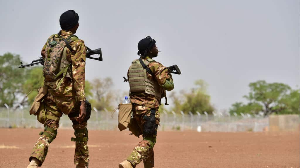 © DR | détachement militaire au Burkina Faso