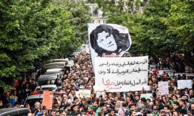 © INTERLIGNES   Grande mobilisation lors du 43e mardi des étudiants à Alger