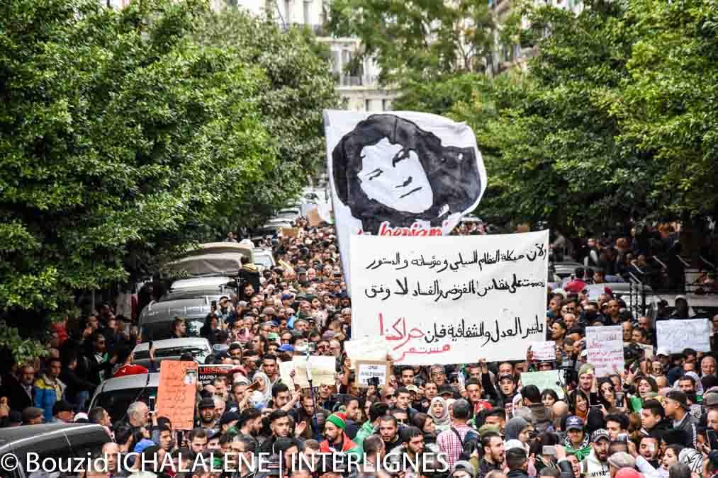 © INTERLIGNES | Grande mobilisation lors du 43e mardi des étudiants à Alger