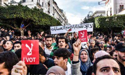 © INTERLIGNES | Manifestation du 11 décembre 2019 à Alger contre l'élection présidentielle