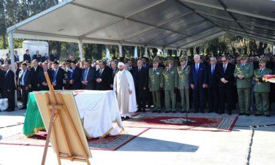 © DR | Ahmed Gaïd Salah inhumé au Carré des Martyrs du cimetière El-Alia