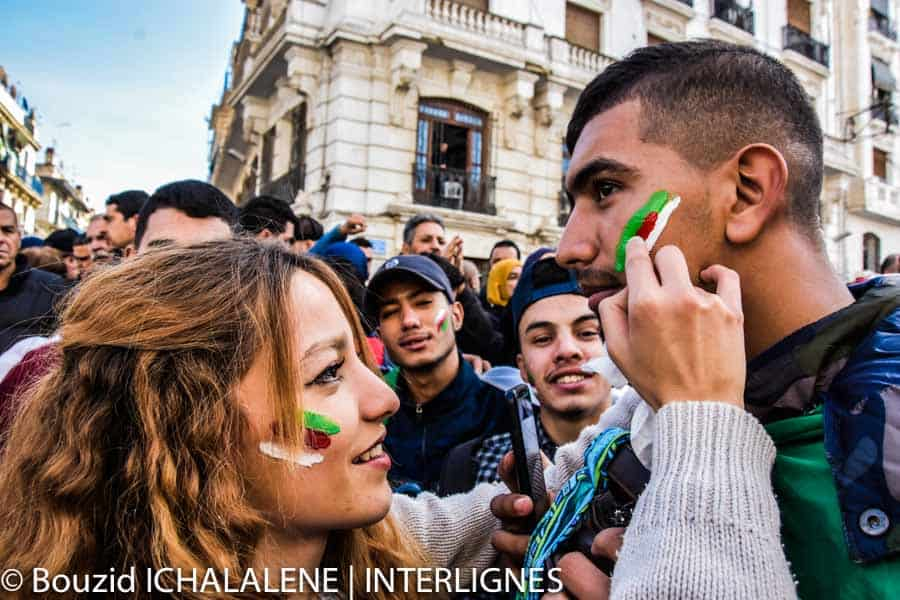 © INTERLIGNES   Manifestation du 11 décembre 2019 à Alger contre l'élection présidentielle