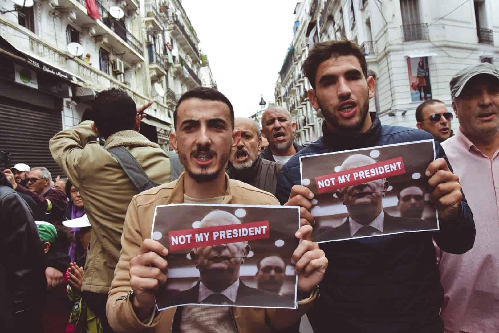 © INTERLIGNES | 43e vendredi du Hirak qui a coïncidé avec l'élection de Abdelmadjid Tebboune